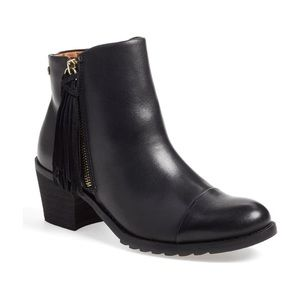 Pikolinos Tassel Leather Andorra Boots